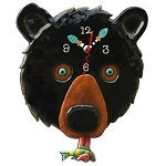 Wild Animal Wall Clocks