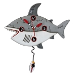 Surf at Risk Pendulum Wall Clock by Allen Designs