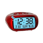Red LCD Digital Battery Alarm by Equity
