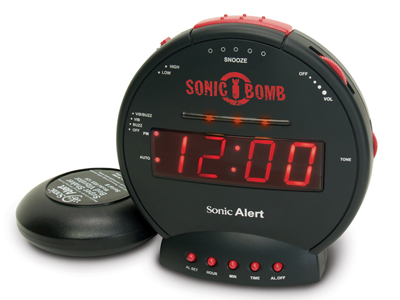 Hearing Impaired Alarm Clock