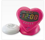 Sweetheart Alarm Clock by Sonic Alert