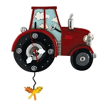 Tractor Time Wall Clock by Allen Designs