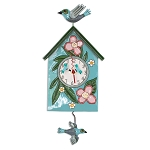 Blessed Nest Wall Clock Pendulum by Allen Designs
