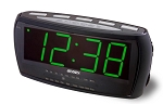 Jumbo Display AM/FM Alarm Clock Radio by Jensen
