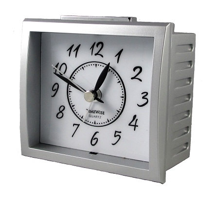 Analog Battery Alarm Clock Oxford Clock By Timewise No