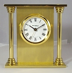 The Fleurette Desk clock by Wehrle