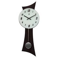 Hilton Black Wood Wall Clock by Infinity