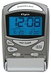 Elgin 03400E Titanium Travel Alarm