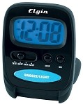 Elgin 03502E LCD  Folding Travel Alarm