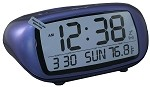 Blue LCD Digital Battery Alarm by Equity