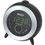 Dual Alarm AM/FM Projection Alarm Clock Radio by Jensen