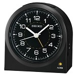 The Arch Black alarm clock by Seiko