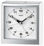 Trident I Alarm Clock White on White by Seiko