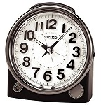 Ultimate Bedside Black Alarm Clock by Seiko QXE011JLH