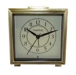 Monarch Alarm Clock Brushed Gold by TimeWise