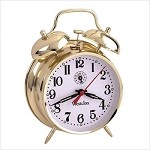 Ardmore Twin-Bell Wind up Alarm Clock by Westclox