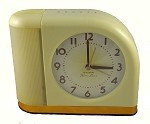 Classic Yellow 1950's Moonbeam Alarm Clock by Westclox
